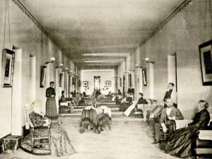 Female Ward at Athens Lunatic Asylum, 1893