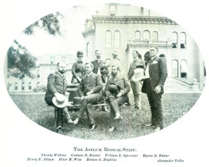 Medical Staff at Willard Asylum