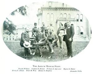 Medical Staff at Willard Asylum