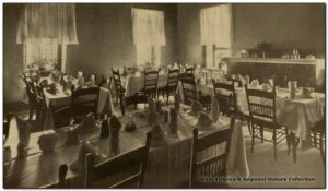 Patient Dining Room at West Virginia Hospital for the Insane, 1912