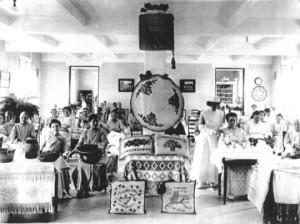 Women's Sewing Room at Spring Grove, 1910s