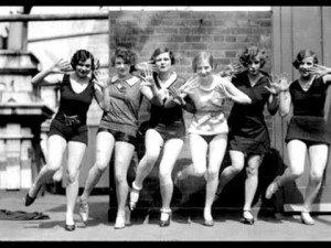 Flappers in the Roaring '20s