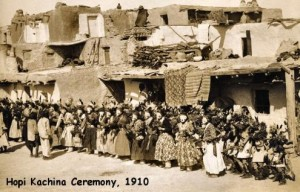 Hopi Cachina Ceremony, 1910