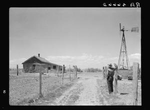Sod Homestead Built in 1900 in Pennington County, SD, courtesy Library of Congress