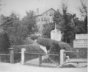 Vermont Asylum for the Insane, circa 1880 to 1890