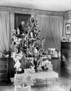 Christmas Tree in Wisconsin State Hospital, 1895