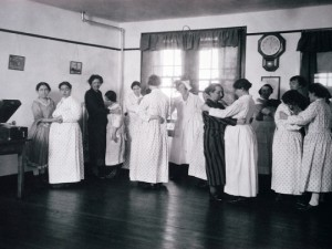 Dance Therapy in New York State Asylum, 1920