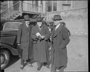 Dr. Abraham Myerson, Dr. I Veron Brigg, and Dr. Earl K. Holt Examine Defendants, 1934