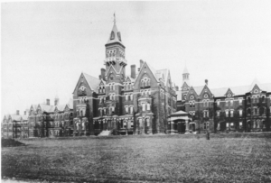Danvers State Hospital, circa 1893, Was Huge in Comparison to Canton Asylum