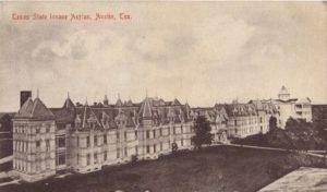 Texas State Lunatic Asylum, circa 1861