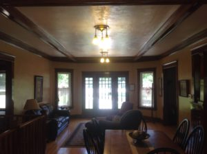 Front Room of Dr. Hummer's Cottage