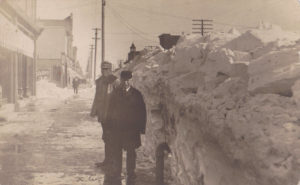 Great Blizzard of 1909, Canton, SD